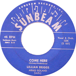 LILLIAN BRIGGS / COME HOME [USED 7/US]