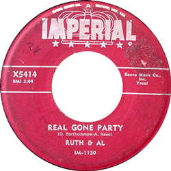RUTH AND AL / REAL GONE PARTY [USED 7/US]