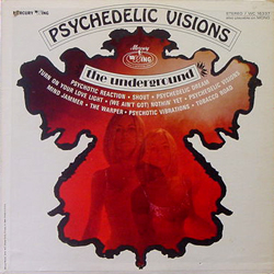 THE UNDERGROUND / PSYCHEDELIC VISIONS [USED LP/US]