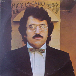 NICK DECARO / ITALLIAN GRAFFITI [USED LP/US] 2100円
