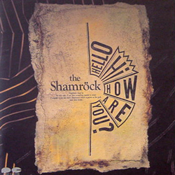 THE SHAMROCK / HELLO HI HOW ARE YOU? [USED CD/JPN] 1050円