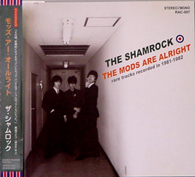 THE SHAMROCK / MODS ARE ALRIGHT [USED CD/JPN] 1575円
