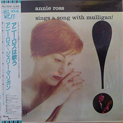 ANNIE ROSS / SINGS A SONG WITH MULLIGAN [USED LP/JPN] 2625円