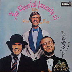 GILES,GILES & FRIPP THE CHEERFUL INSANITY OF~ [USED LP/JPN] 1680円