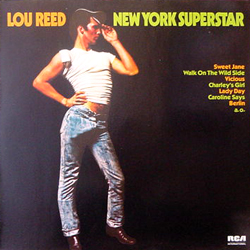 LOU REED / NEW YORK SUPERSTAR [USED LP/EU] 1260円