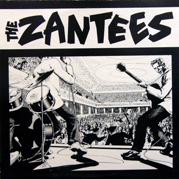 THE ZANTEES / S.T. [USED LP/US] 1260円