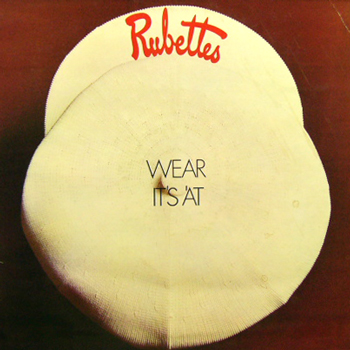 THE RUBETTES / WEAR IT'S 'AT [USED LP/UK] 2310円
