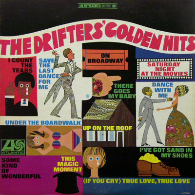 THE DRIFTERS / GOLDEN HITS [USED LP/US] 1470円