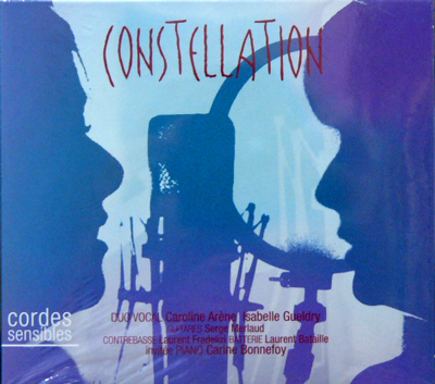 cordes sensibles / constellation [NEW CD/FRANCE] 2310円