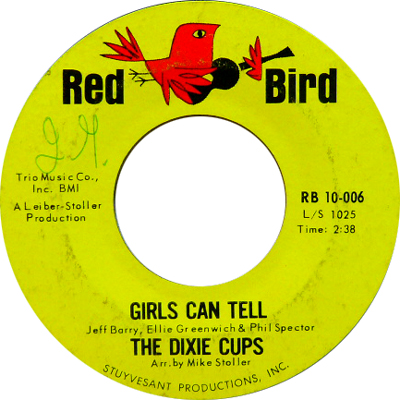 THE DIXIE CUPS / GIRLS CAN TELL [USED 7/US] 1470円