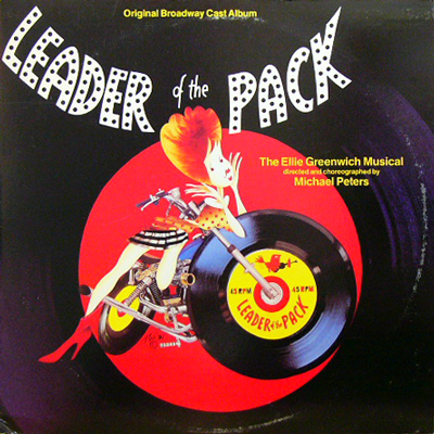 ORIGINAL BROADWAY CAST / LEADER OF THE PACK [USED 2LPs/US] 1260円
