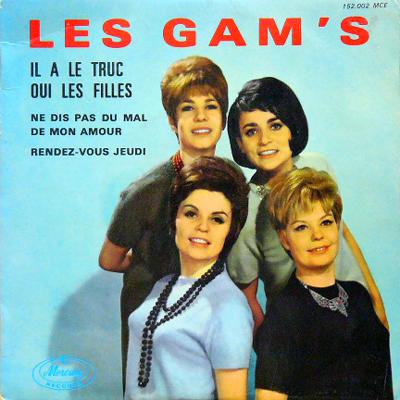 LES GAM'S / IL A LE TRUC [USED EP/EU] 2100円
