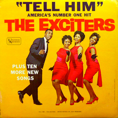 THE EXCITERS / TELL HIM [USED LP/US] 4880円