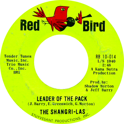 THE SHANGRI-LAS / THE LEADER OF THE PACK [USED 7/US] 1890円