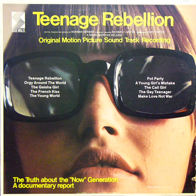 BOB SUMMERS & MIKE CURB / TEENAGE REBELLION O.S.T. [USED LP/US] 5250円