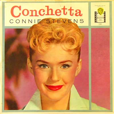 CONNIE STEVENS / CONCHETTA [USED LP/US] 6300円