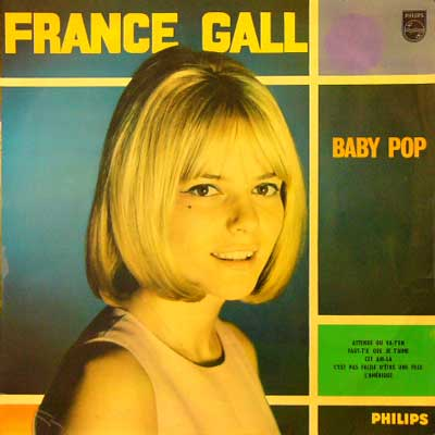 FRANCE GALL / BABY POP [USED LP/FRANCE] 8400円