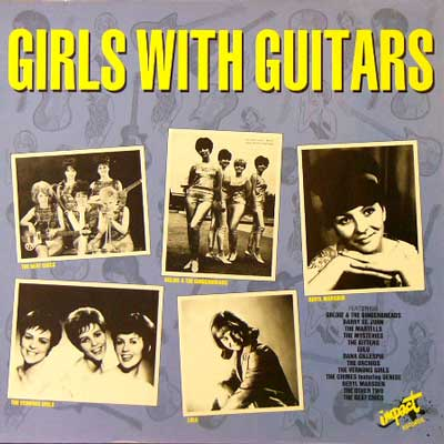 V.A. / GIRLS WITH GUITARS [USED LP/UK] 1890円