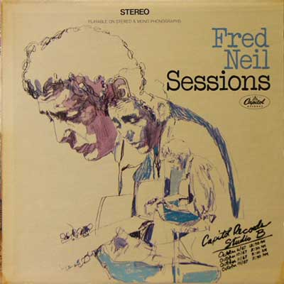 FRED NEIL / SESSIONS [USED LP/US] 2100円