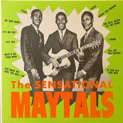 THE MAYTALS / THE SENSATIONAL MAYTALS [USED LP/JPN] 1890円