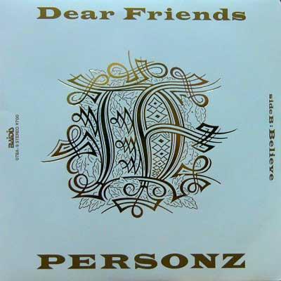 パーソンズ / DEAR FRIENDS [USED 7/JPN] 525円