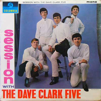 THE DAVE CLARK FIVE / SESSION WITH THE [USED LP/UK] 4200円