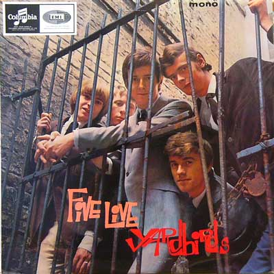 THE YARDBIRDS / FIVE LIVE YARDBIRDS [USED LP/UK] 3150円