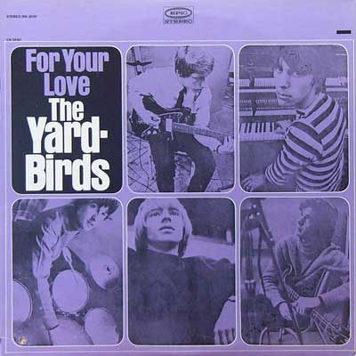 THE YARDBIRDS / FOR YOUR LOVE [USED LP/US] 3150円