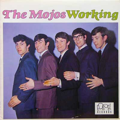 THE MOJOS / WORKING [USED LP/UK] 1890円