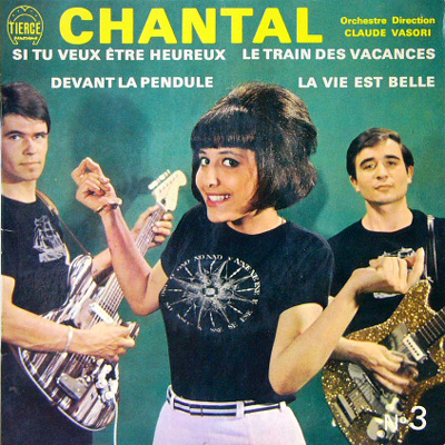 CHANTAL / LES JENNES JOUENT LE TIERCE PANORAMA [USED EP/FRANCE] 1890円