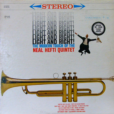 NEAL HEFTI QUINTET / LIGHT AND RIGHT! [USED LP/US] 1470円