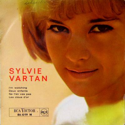 SYLVIE VARTAN / NE T'EN VAS PAS [USED EP/FRANCE] 1470円