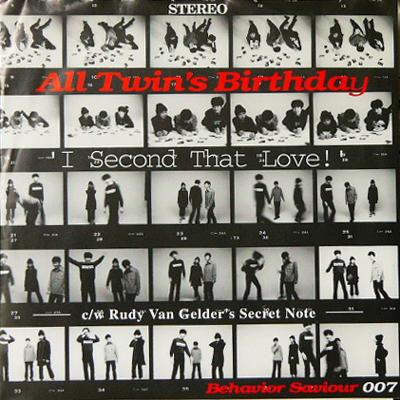 ALL TWIN'S BIRTHDAY / I SECOND THAT LOVE! [USED 7/JPN] 735円