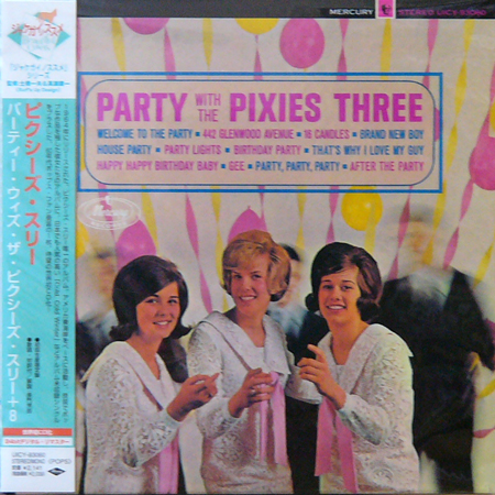 PIXIES THREE / PARTY WITH THE PIXIES THREE [USED CD/JPN] 2940円