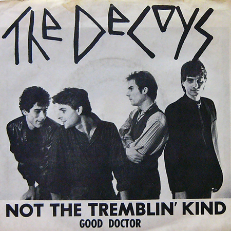 THE DECOYS / NOT THE TREMBLIN' KIND [USED 7inch/US]