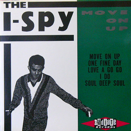 THE I-SPY / MOVE ON UP [USED 12inch/JPN]