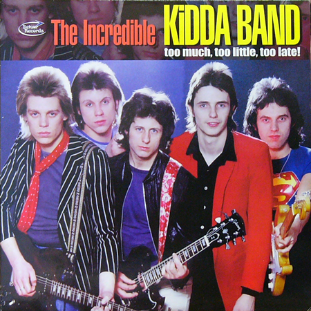 THE INCREDIBLE KIDDA BAND / TOO MUCH,TOO LITTLE,TOO LATE! [USED 2LPs/UK]