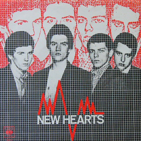 NEW HEARTS / JUST ANOTHER TEENAGE ANTHEM [USED 7inch/UK]