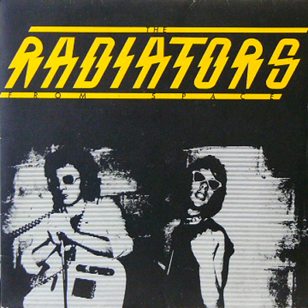 THE RADIATORS FROM SPACE / TELEVISION SCREEN [USED 7inch/UK]