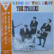 THE STRIKES / THE KING OF THE BEAT [NEW CD/JPN] 2625円