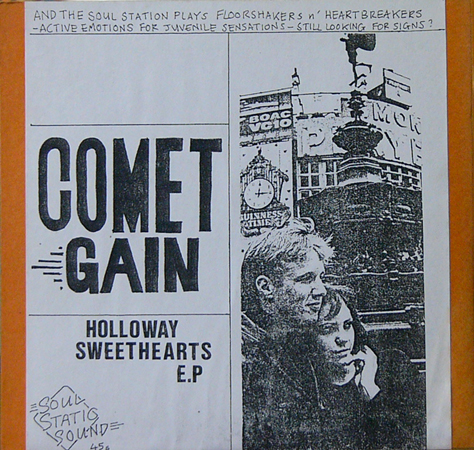 COMET GAIN / HOLLOWAY SEWWTHEARTS E.P. [USED 7inch/UK] 4200円