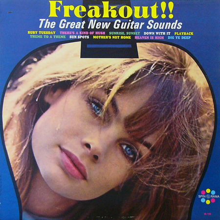 THE GREAT NEW GUITAR SOUNDS / FREAKOUT! [USED LP/US] 1260円