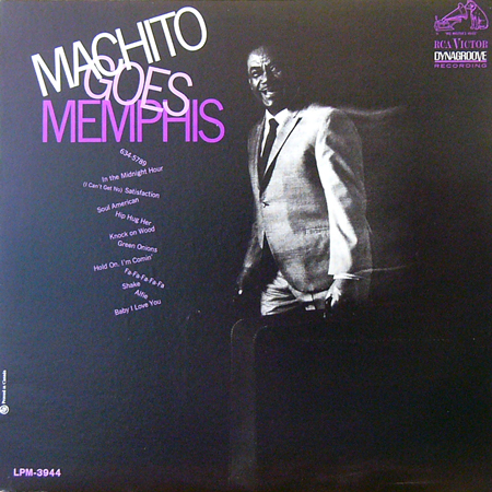 MACHITO / GOES MEMPHIS [USED LP/US] 1470円