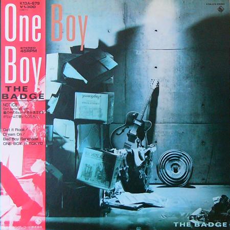 THE BADGE / ONE BOY [USED 12inch/JPN] 2940円