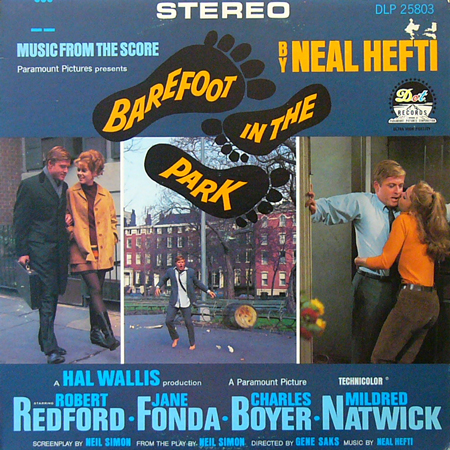 NEAL HEFTI / BAREFOOT IN THE PARK [USED LP/US] 2625円