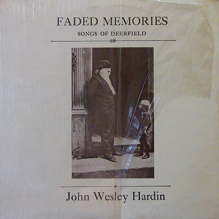JOHN WESLEY HARDIN / FADED MEMORIES [USED LP/US] 2625円