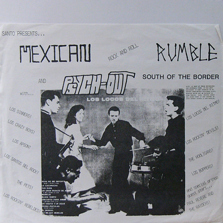 V.A. / MEXICAN ROCK AND ROLL RUMBLE & PSYCH-OUT [USED LP/-] 1680円