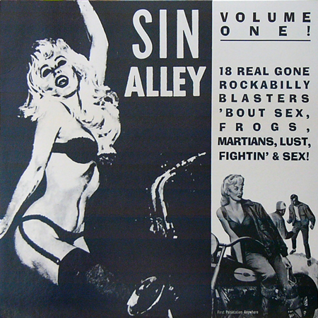 V.A. / SIN ALLEY VOLUME ONE! [USED LP/US] 1890円