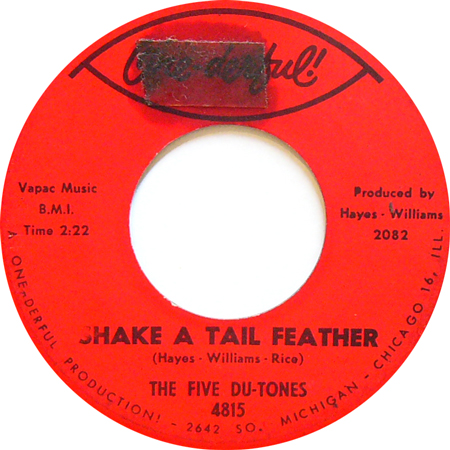 The Five Du Tones Shake A Tail Feather 66 Divorce Court