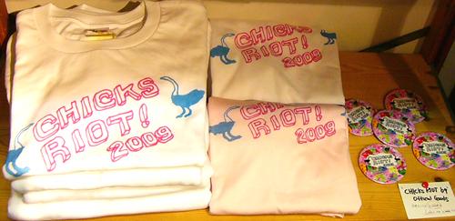 chicks riot 09 official goods